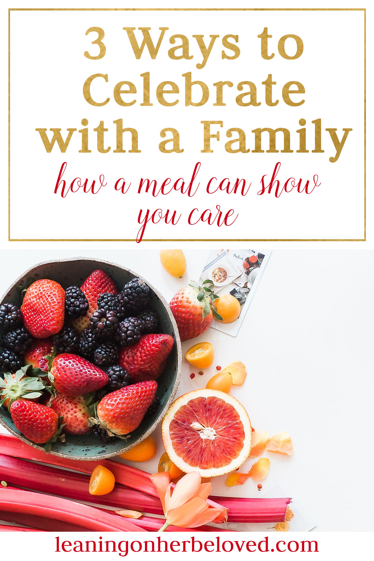 Celebrating with a family that has had a baby or taken in a foster child or adopted is a wonderful time. Here are practical tips and recipes for you to make it easier to support them.