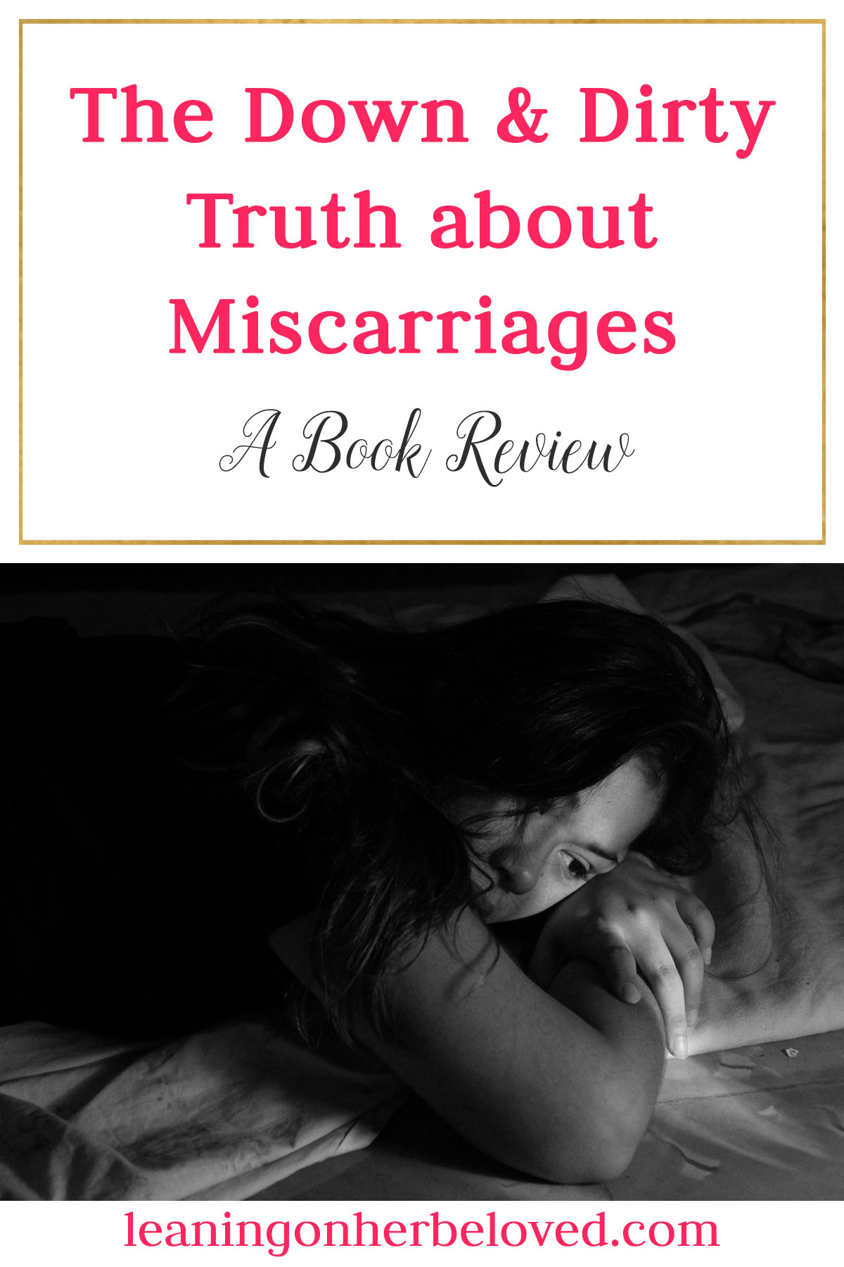 A wonderful short read that gives great insight and wisdom from a woman who has experienced 2 miscarriages