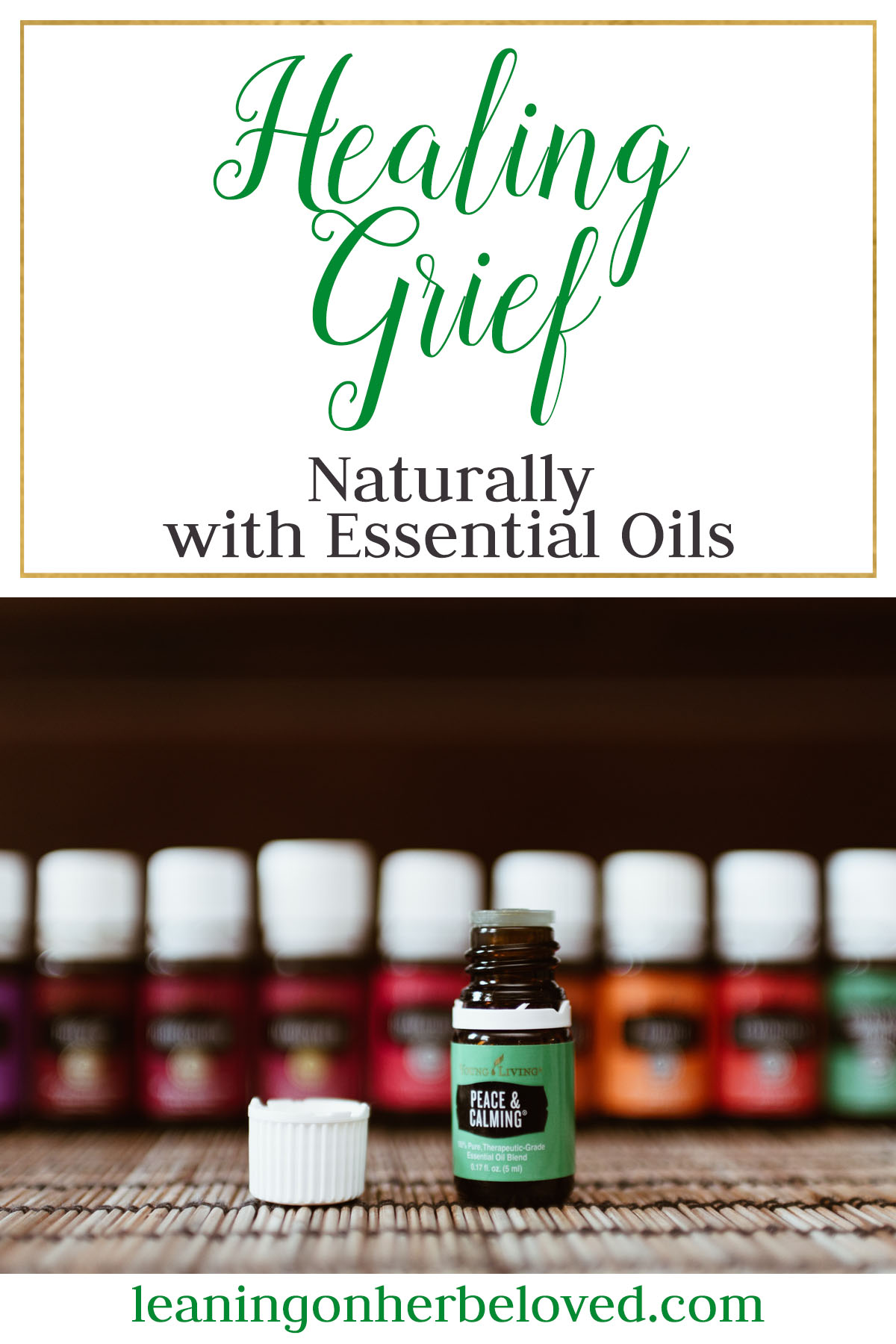 Learn the Essential oils that can help your body cope and recover from the symptoms of grief and heart ache | Miscarriage | Loss | #grief