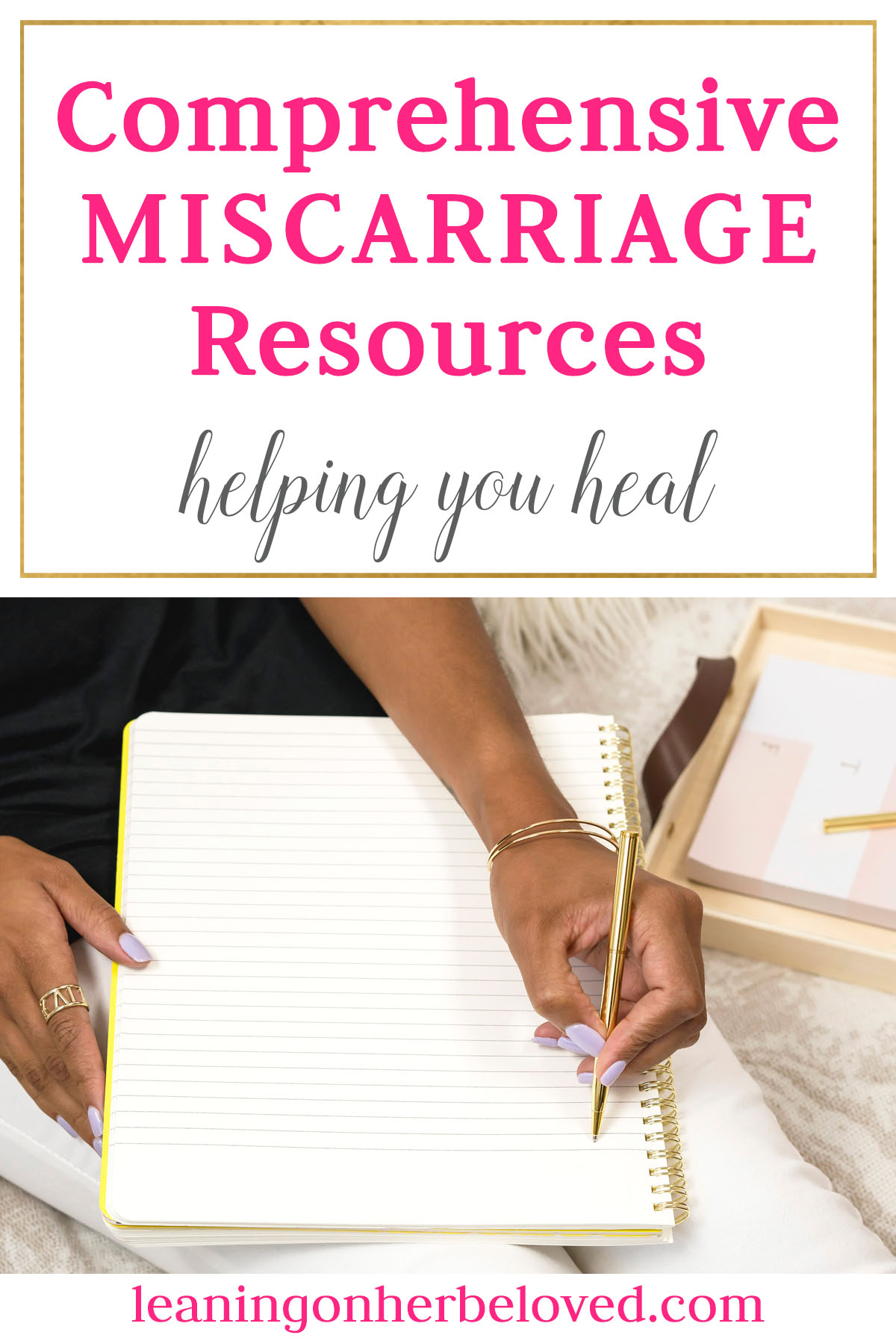 Miscarriage Resources for Moms and Friends of Moms that include books, blogs, podcasts, gift services, etc.